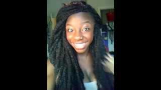 Natural Hair Protective Style: Bob Marley Twist