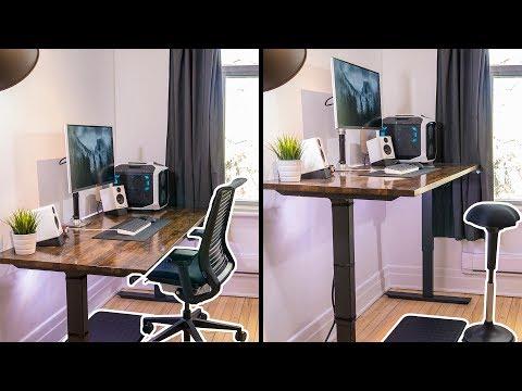 The Ultimate Ergonomic Desk Setup