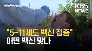 [글로벌K] 이스라엘, 기저질환 5~11세 아동도 코로나19 백신 접종 / KBS 2021.07.28.