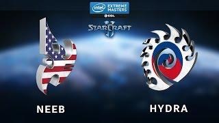 StarCraft 2 - Neeb vs. Hydra (PvZ) - IEM Shanghai - Ro8