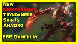 Nightbringer Tryndamere Skin is AMAZING - League Of Legends