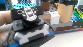 Обзор на мой самодельный лего крейсер