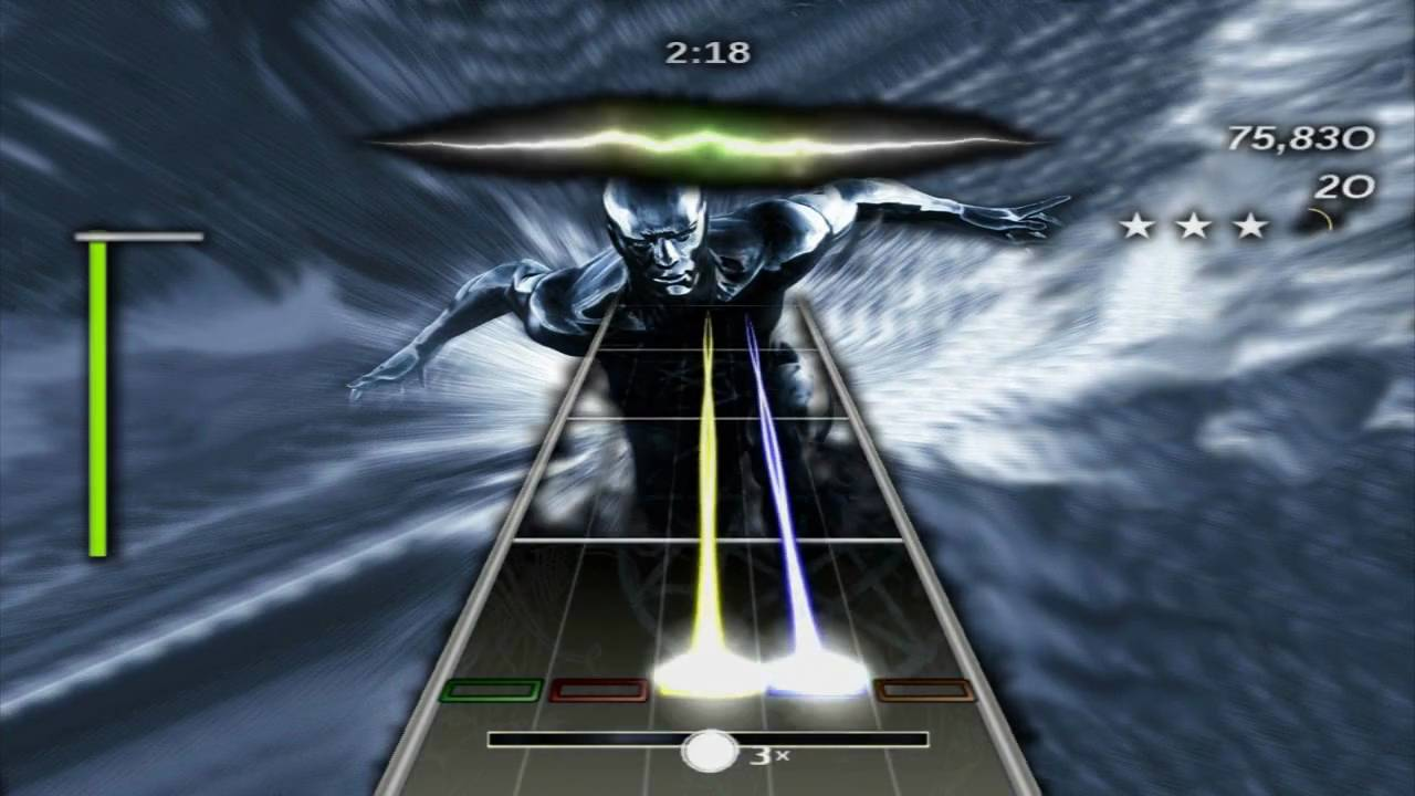 Guitar hero 3 frets on fire custom song joe satriani surfing with the alien hd 720p youtube - Guitar hero 3 hd ...