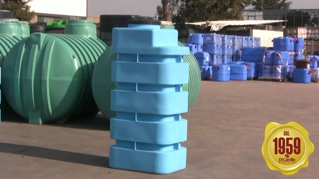 Autoclave in polietilene youtube for Serbatoio di acqua di rame