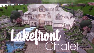 Roblox || Bloxburg: Lakefront Chalet || House Build
