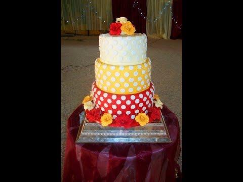 polka-dot-wedding-cake,-benin-city,-nigeria