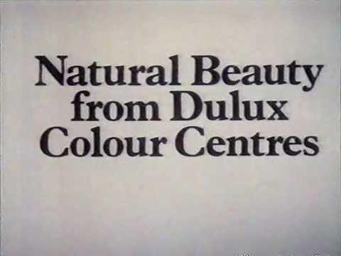 80's UK TV Advert - Dulux Natural Colours