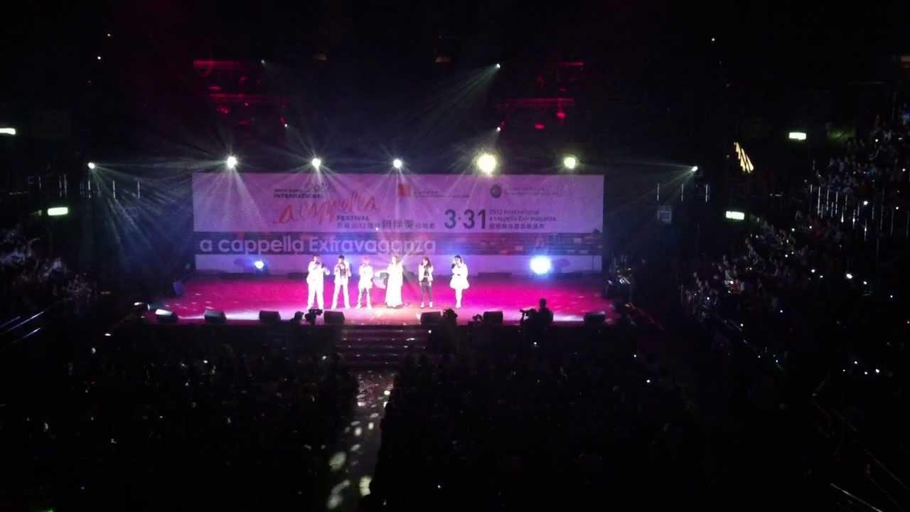 謝安琪 KAY 年度之歌 你們的幸福 2012國際無伴奏音樂盛典 [HD 720p] - YouTube