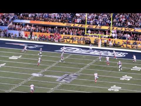 Last Play of Super Bowl XLVI