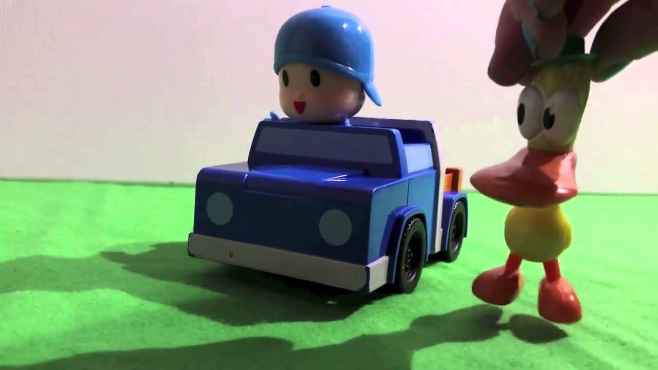 Pocoyo Car Toy Pocoyo Driving With Ellie Pato And Loula El