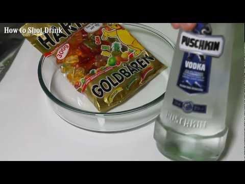 How To Make Vodka Gummy Bears - How To Kamikaze Bears