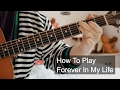 watch he video of Forever In My Life (Live Version) Prince Guitar Tutorial