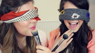 The Blindfolded Makeup Challenge | Zoella