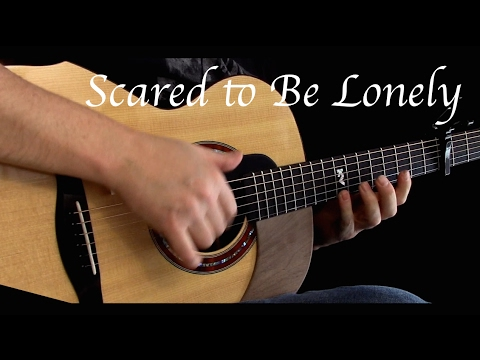 Kelly Valleau - Scared To Be Lonely (Martin Garrix & Dua Lipa) - Fingerstyle Guitar