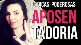 APOSENTADORIA SEM INSS: 5 DICAS PODEROSAS