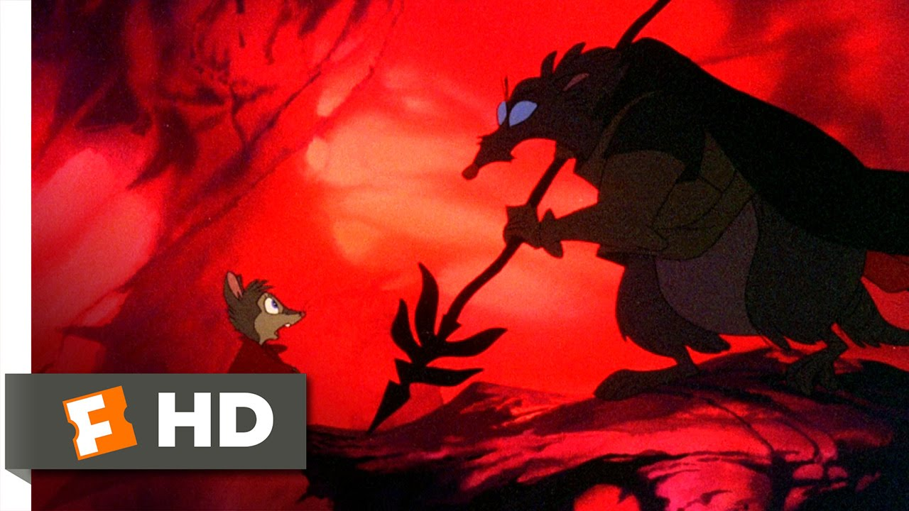 the secret of nimh 59 movie clip driven out 1982 hd