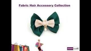 Fabric Hair Accessories by Crunchy Fashion Thumbnail