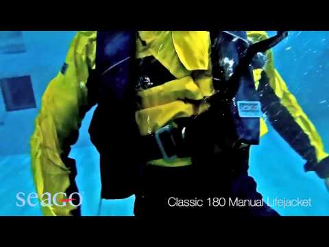 SEAGO Classic 180 Manual Lifejacket | Pirates Cave Chandlery