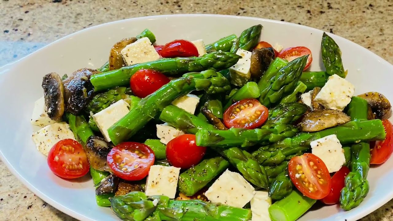 Asparagus & Feta Salad