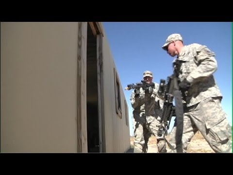 Army 1-6 Military Operations on Urban Terrain (MOUT) Training