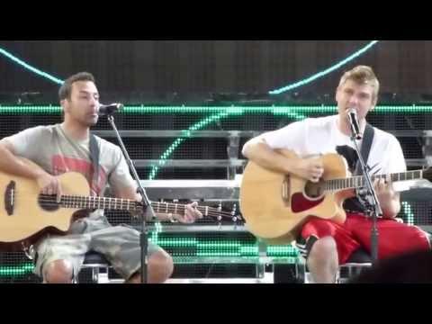 backstreet-boys-soundcheck:-10,000-promises-(concord,-ca)
