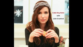 Cabin Boy Knits: Canadian Interview Series with designer Julie Crawford