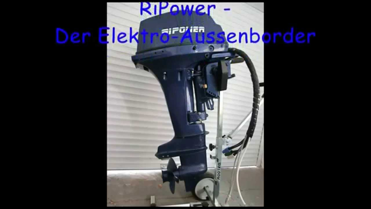 ripower elektro bootsmotor infovideo 2 youtube. Black Bedroom Furniture Sets. Home Design Ideas