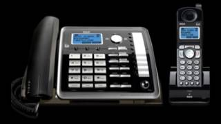 Buy 2 Line Phone System - They are smaller than the old phones and feel better in our hands