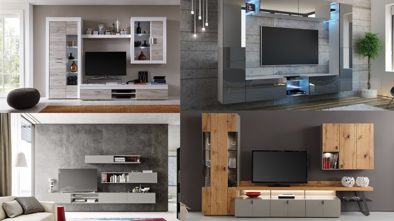 Tv Unit Design For Living Room Modern Tv Cabinet Design Ideas Youtube