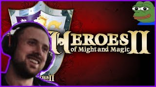 Forsen Reacts To Heroes of Might and Magic II Review by SsethTzeentach