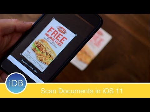 How-To: Scan Documents with Notes on iOS 11