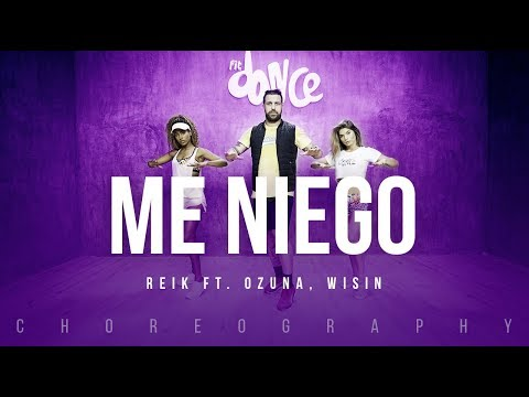 Me Niego - Reik ft. Ozuna, Wisin | FitDance Life (Coreografía) Dance Video