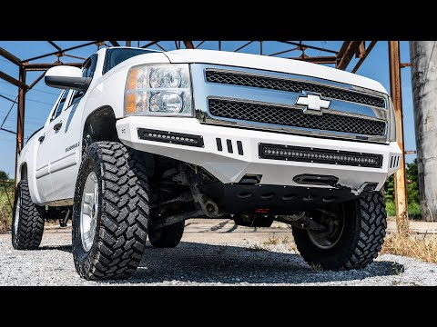 Installing A 2007-2013 GM 1500 DIY Front Bumper by Rough Country