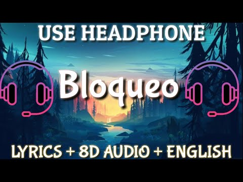 Lele Pons & Fuego - Bloqueo ( Lyrics /  letra / English Version / 8D audio )| English translation