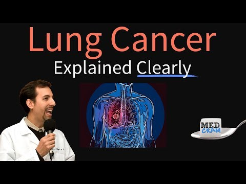 Lung Cancer Explained Clearly by MedCram.com