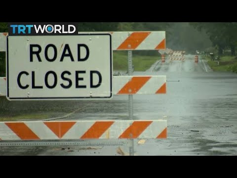 Hurricane Florence: Mass flooding and rising waters in NC
