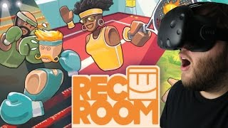 Rec Room Gameplay - VR MMO!? An Awesome Social Sports Game (HTC Vive Virtual Reality)