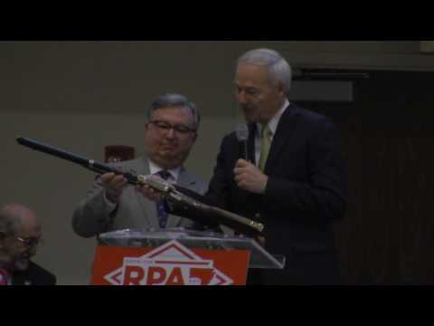 Doyle Webb is nominated as Chair of the Republican Party of Arkansas & Henry Rifles