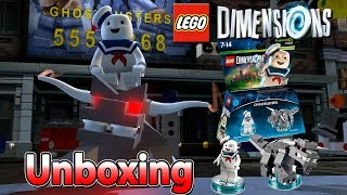 Lego Dimensions Stay Puft Fun Pack Unboxing | Stay Puft + Terror Hund