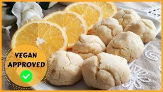 HOW TO MAKE ORANGE COOKIES?? || NO BUTTER!! NO EGG!! || VEGAN APPROVED