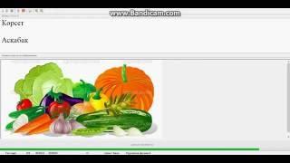 Казахский язык. №10 Тест (Овощи)