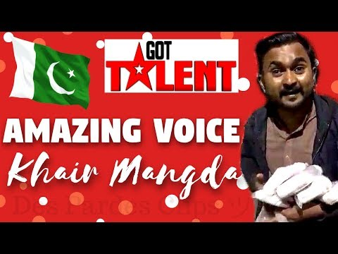 Atif Aslam - Khair Mangda - Amazing Voice - Elastic Seller at Karachi Dolmen | Des Pardes Clips ツ