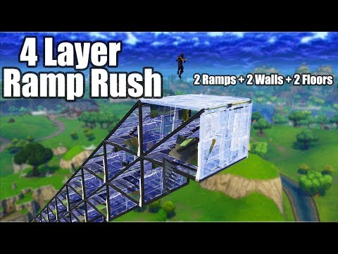 4 Layer Ramp Rush v2 (Tutorial) - Fortnite Battle Royale