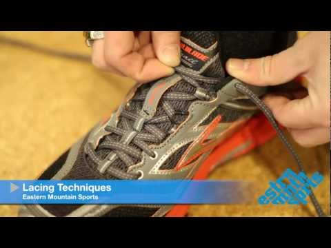 Lacing Technique - Runner's Loop - Eastern Mountain Sports