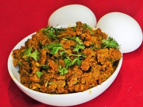 अंडा भुर्जी  | Anda Bhurji by madhurasrecipe | Cooking | Indian Street Food | Scramble Eggs
