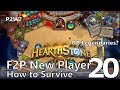 Hearthstone - F2P New Player: How to Survive #20 - Let's talk about Quests