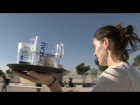 Eau de Marseille Métropole dans la course des garçons de café