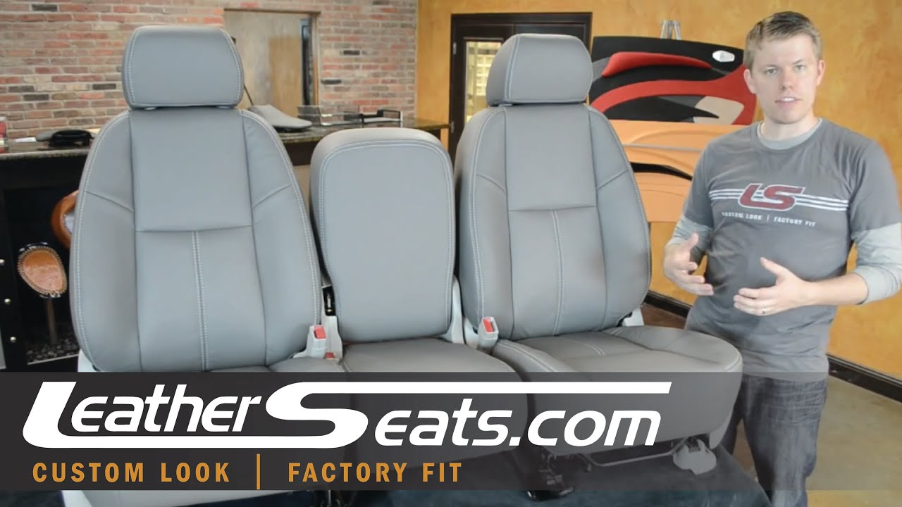 Chevy Avalanche Leather Interior Upgrade Upholstery Conversion Package Leatherseats Com Youtube