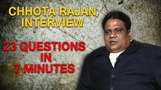 Chhota Rajan Interview with Times Now | Answers 23 Questions in 7 minutes