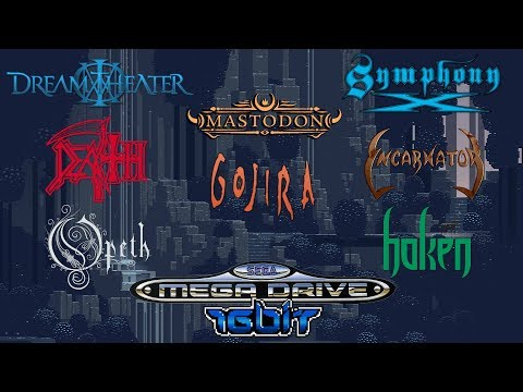 Progressive Metal bands in 16bit Sega Mega Drive